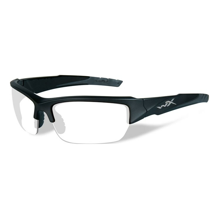 40fed122c3 Image of Wiley X Valor Sunglasses - Clear Lenses Black 2 Tone Frame