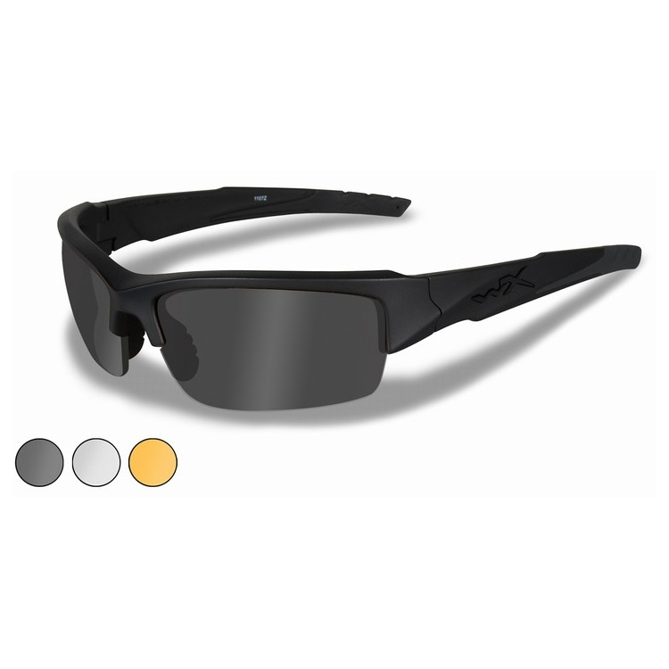 13f69f965f7 Image of Wiley X WX Valor Sunglasses - Smoke Grey