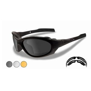 Image of Wiley X XL-1 Advanced Changeable Sunglasses - Smoke Grey, Light Rust & Clear  / Matte Black