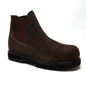 Image of Grubs Fury Worklite Safety Dealer Boot (No Box) - Dark Chocolate Oily Nubuck