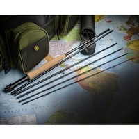 Wychwood 6 Piece Game Quest V2 Fly Rod - 8ft 6in