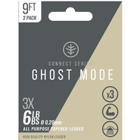Wychwood Connect Series Ghost Mode Tapered Leaders - 9ft