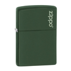 Image of Zippo Green Matte Lighter - Green