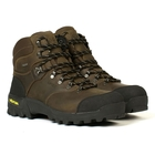 Image of Aigle Altavio GTX Leather Walking Boots (Men's) - Sepia / Black