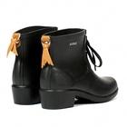 Image of Aigle Miss Juliette Bottillon Lace Ankle Boots (Women's) - Noir