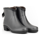 Image of Aigle Miss Juliette Bottillon Fur Ankle Boots (Women's) - Metallic