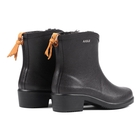 Image of Aigle Miss Juliette Bottillon Fur Ankle Boots (Women's) - Noir