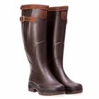Image of Aigle Parcours 2 Signature Wellington Boots - Wide Calf (Unisex) - Brun