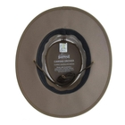 Image of Barmah Drover Canvas Hat With Mesh Sides - Brown