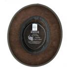 Image of Barmah Foldaway Bronco - Fullgrain Leather Hat - Dark Brown