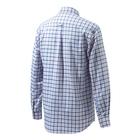 Image of Beretta Classic Shirt - White/Blue Navy Check