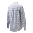 Image of Beretta Classic Shirt - White/Violet Fancy