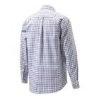 Image of Beretta Classic Shirt - White/Prune/Amethyst Check