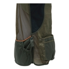 Image of Beretta DT11 Cotton Slide Vest - Dark Olive & Forest Night