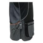 Image of Beretta DT11 Cotton Slide Vest - Black/Grey