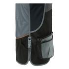 Image of Beretta DT11 Microsuede Slide Vest - Black/Grey