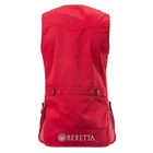 Image of Beretta Mens Silver Pigeon Vest - Red / Blue