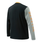 Image of Beretta Victory Corporate Long Sleeved T-Shirt - Black & Orange