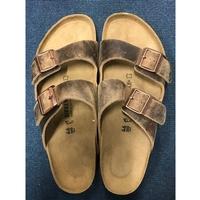 Birkenstock Arizona Oiled Leather Sandals - UK 11.5 - EX-DEMO