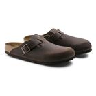 Image of Birkenstock Boston Oiled Leather Sandals (Men's) - Habana
