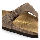 Image of Birkenstock Gizeh Oiled Leather Sandals (Women's) - Tabacco Brown