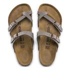 Image of Birkenstock Mayari Birko-Flor Synthetic Leather Sandals (Women's) - Stone