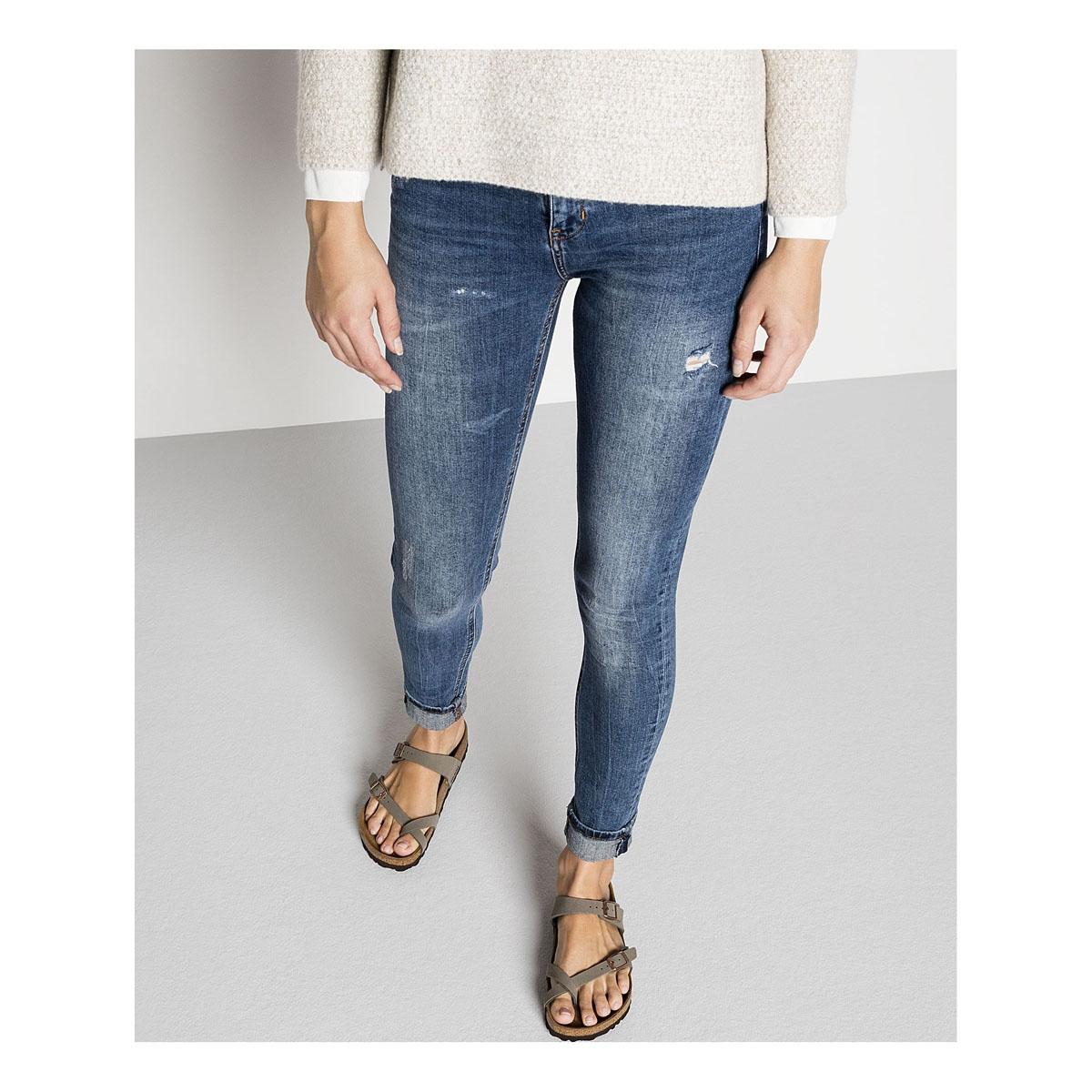 0100787f2b8d7 ... Image of Birkenstock Mayari Birko-Flor Synthetic Leather Sandals  (Women s) - Stone ...