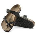 Image of Birkenstock Mayari Oiled Leather Sandals (Women's) - Black