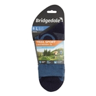 Image of Bridgedale Trail Sport Lightweight T2 3/4 Crew Merino Cool Comfort Sock (Men's) - Storm/Navy