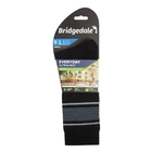 Image of Bridgedale Everybody Outdoors Merino Endurance Sock Liner (Men's) - Black/Lt Grey