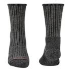 Image of Bridgedale Hike Midweight Merino Comfort Sock (Men's) - Charcoal