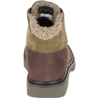 Image of CAT Fret Fur Waterproof Ladies Casual Boots (Women's) - Coffee Bean/Olive