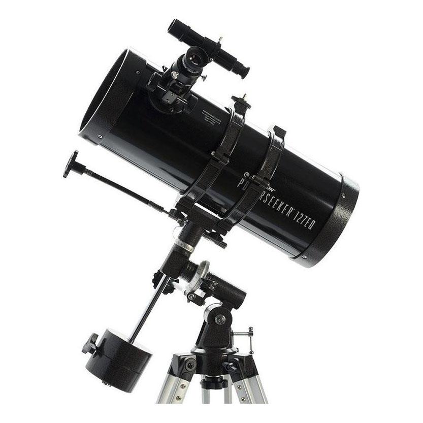 Celestron PowerSeeker 127EQ Newtonian Reflector Telescope - Black