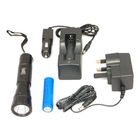 Image of Clulite ML7 Mini Pro Torch - LED - Rechargeable - Black