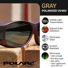 Image of Cocoons Pilot Polarized Sunglasses - Sand Frame / Grey Lens