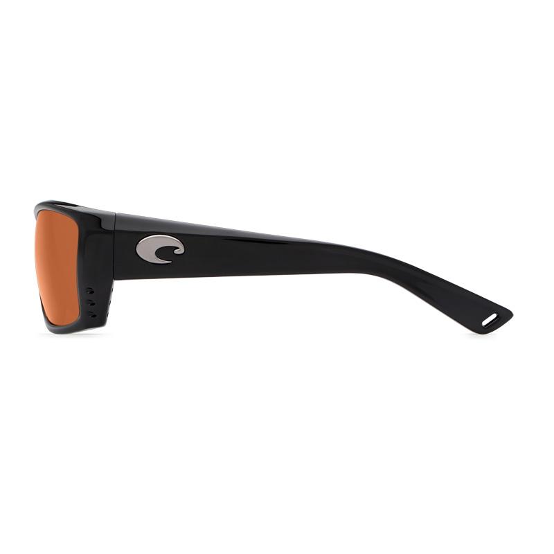 1311b2a496e ... Image of Costa Del Mar Cat Cay Sunglasses - Black Frame   Copper 580G  Lenses ...