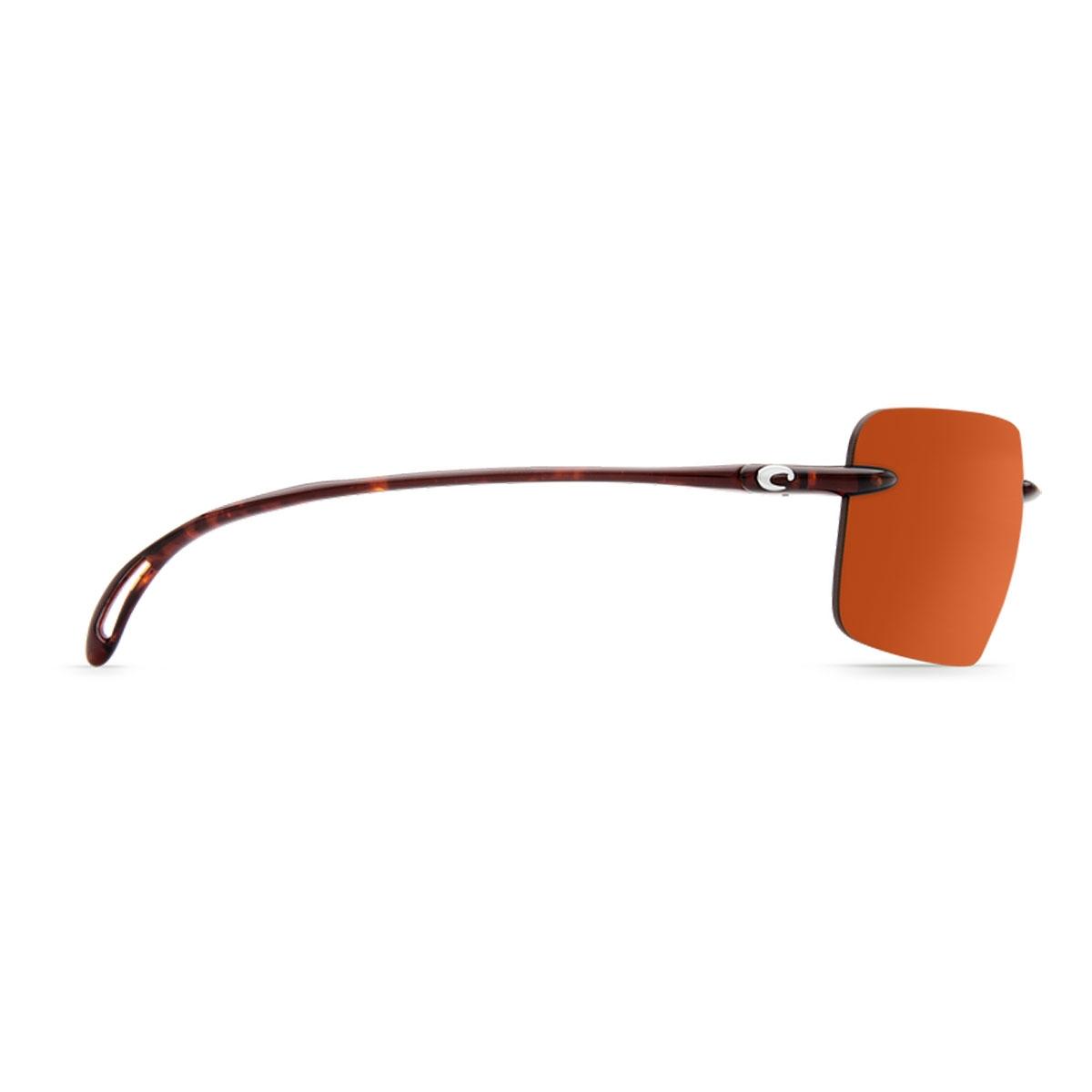 90815f9967 ... Image of Costa Del Mar Gulf Shore Sunglasses - Tortoise Frame   Copper  580P Lens ...
