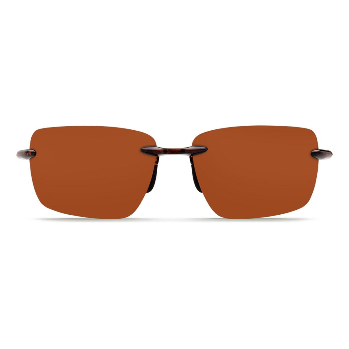 0a8396e4c4 ... Image of Costa Del Mar Gulf Shore Sunglasses - Tortoise Frame   Copper  580P Lens