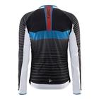 Image of Craft Gran Fondo Thermal Long Sleeve Jersey (Men's) - Black / White