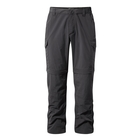 Image of Craghoppers NosiLife Convertible II Trousers - Black Pepper