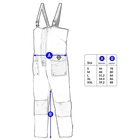 Image of Fladen Flotation Rescue System 857B Bib & Brace trousers only - Blue