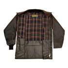 Image of Game Barker Antique Wax Jacket - Black