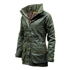 Image of Game Cantrell Wax Jacket - Ladies - Olive