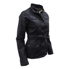 Image of Game Morgan Antique Wax Jacket - Ladies - Black