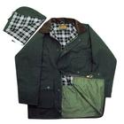 Image of Game Unpadded Wax Jacket - Olive