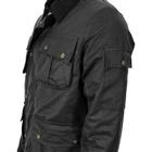 Image of Game Utilitas II Wax Jacket - Black