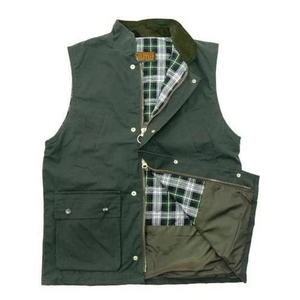Image of Game Wax Quilted Bodywarmer/Gilet - Olive