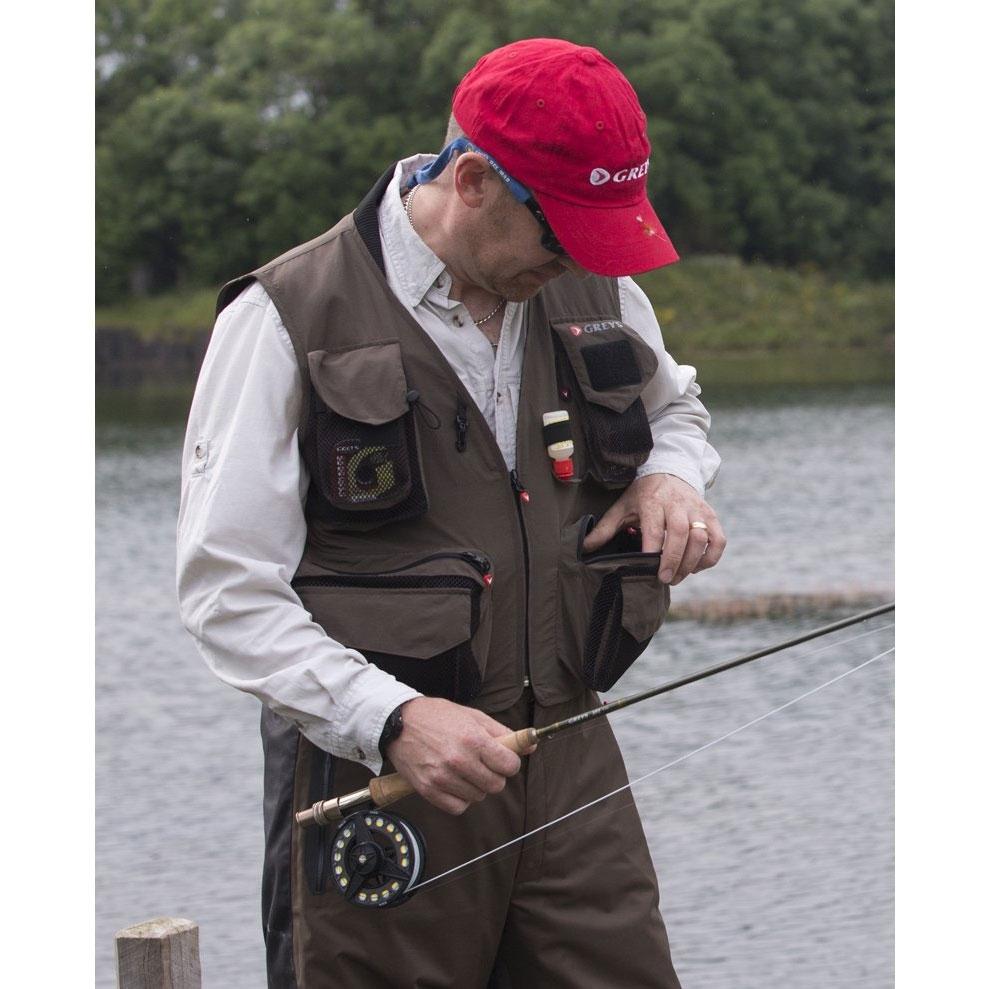 Greys Fly Vest Fishing Waistcoat
