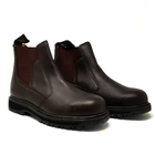Image of Grubs Cyclone Worklite Dealer Boot (No Box) - Dark Brown Oily Full Grain