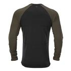 Image of Harkila HEAT Long Sleeve T-Shirt - Willow Green/Black
